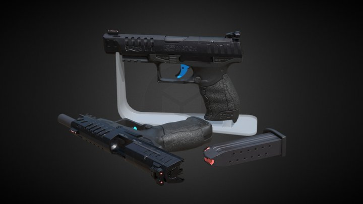 Walther PPQ 5 3D Model