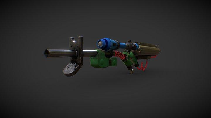 【Splatoon】E- Liter-3K Scope Kai 3D Model