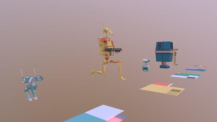 XYZ Homework_05 - Coloring 3D Model