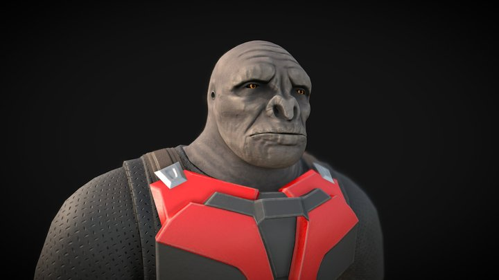 Craig from Halo Infinite 3D Model