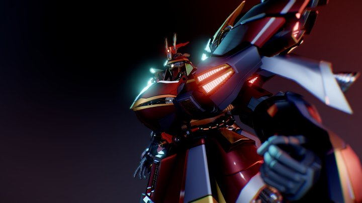 SAZABI MSN-04 - Engage 3D Model