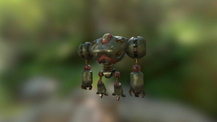 07-(f) Robot - Painting 3D Model