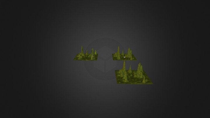Mikel Llobera Environment Casa 3D Model