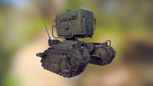 Sentry Final 3D Model