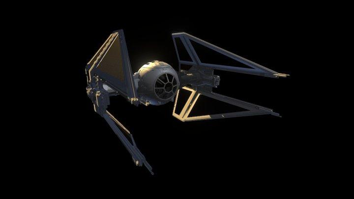 Interceptor TIE 3D Model