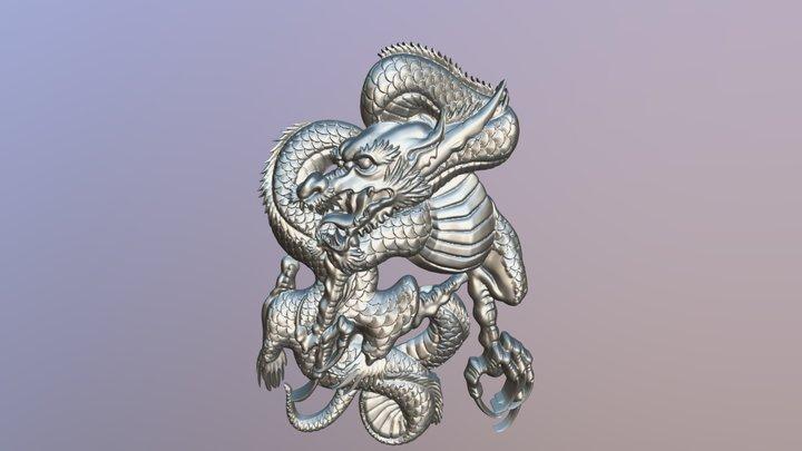 Dragon Relief 3D Model