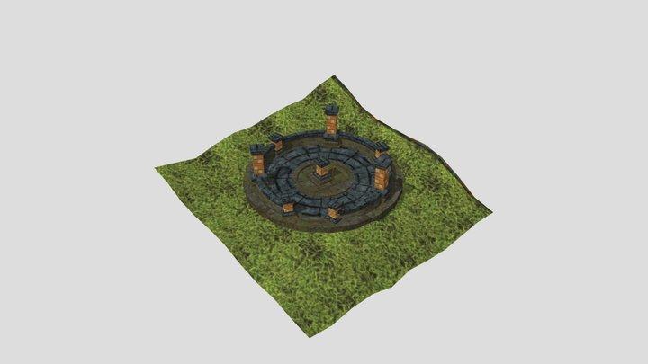 Altar rocoso 3D Model