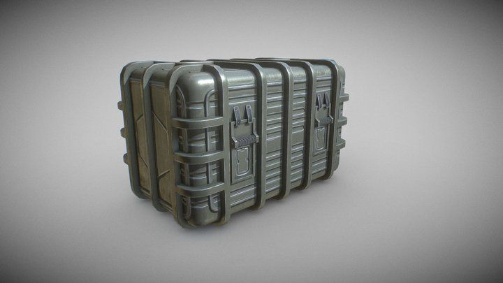 Star Wars Imperial Crate 3D Model
