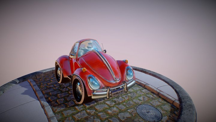 VW FUKA 3D Model