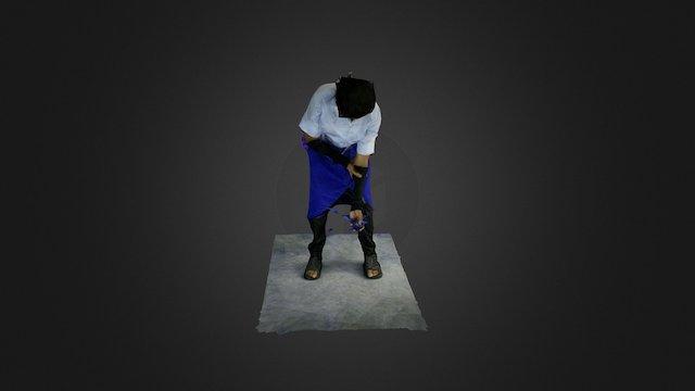 Sasuke Uchiha Cosplay 3D Model