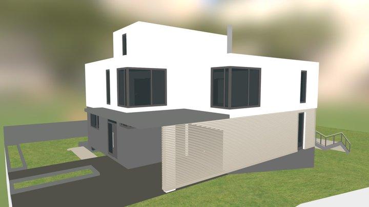 BiMblog Projet openBIM demo - couleur 3D Model