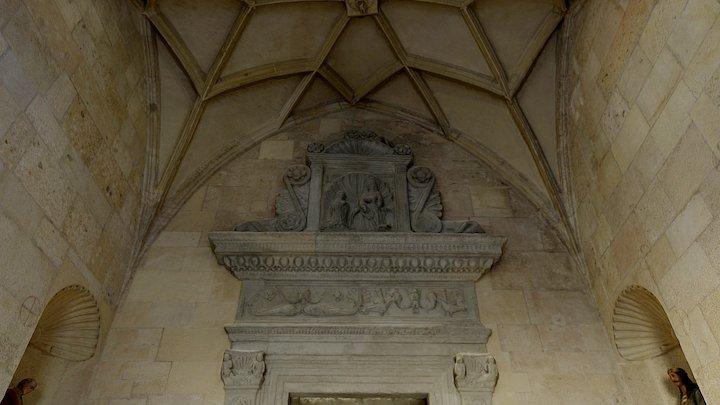 Roman Catholic Cathedral_Lazo Chapel (interior) 3D Model