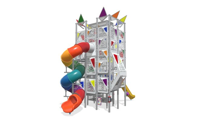 Sky Towers® Hannah's Hideaway (500-2038) 3D Model
