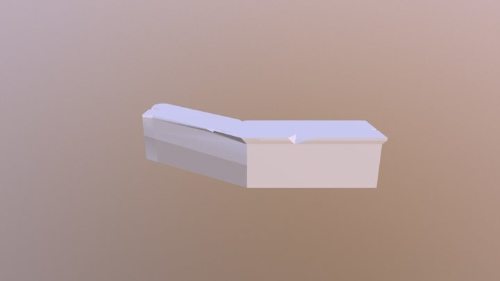 Store Counter 3D Model