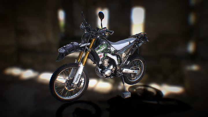 YAMAHA WR250R 3D Model