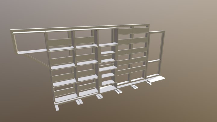 Harwell Frame 3D Model