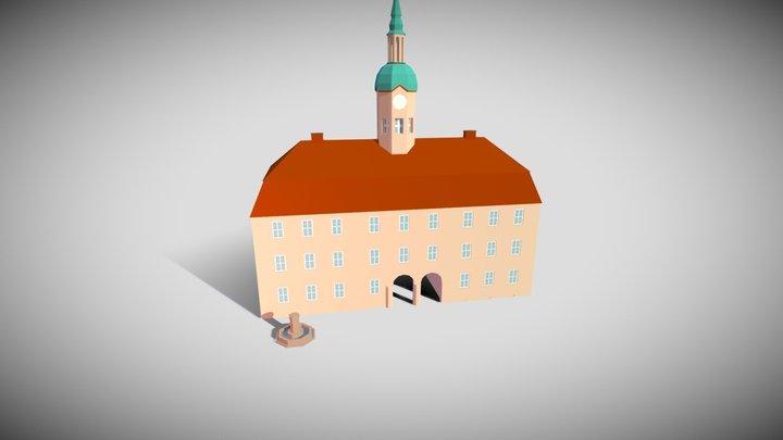 Historisches Rathaus von Neubrandenburg 3D Model