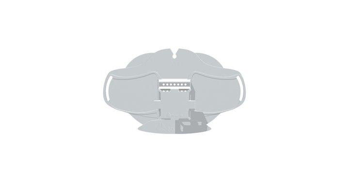 Masque Alternatif Carré B 3D Model