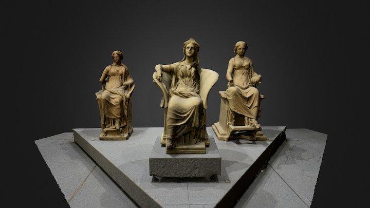 Trio 3D Model