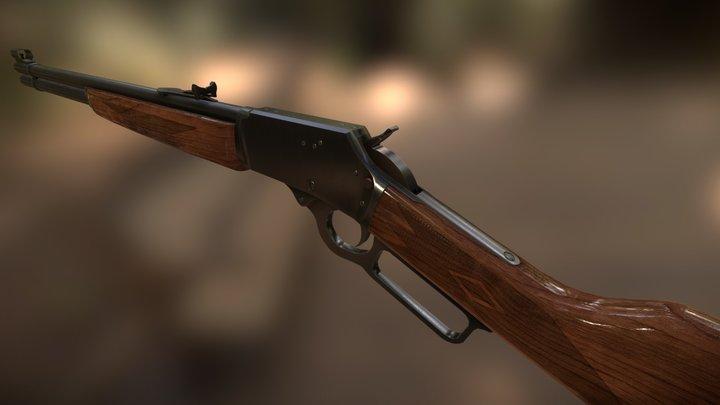 Marlin Model 1894 3D Model