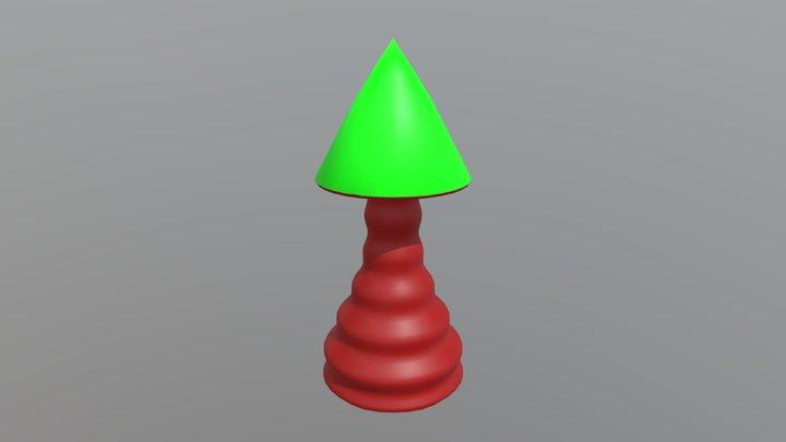 Stair Arrow 3D Model