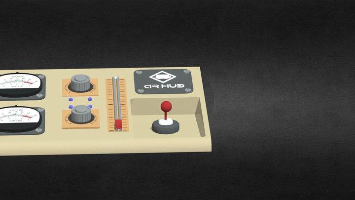 Control Box 3D Model