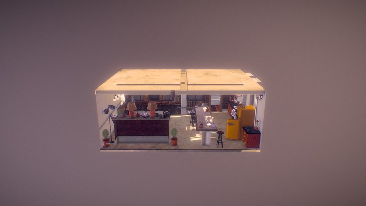 Deliverance Scene 3D Model