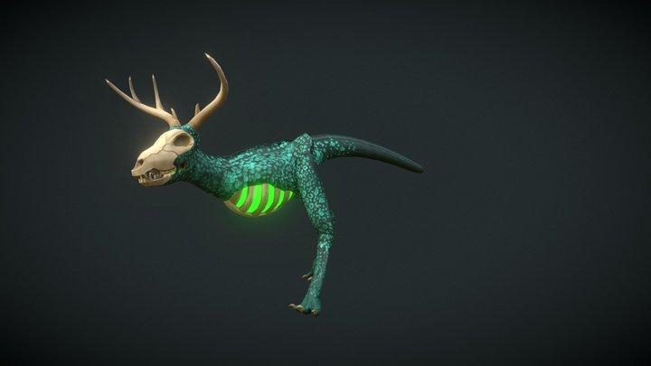 Blight Beast 3D Model