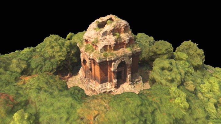 Phnom Da, Prasat 11th century, Cambodia 3D Model
