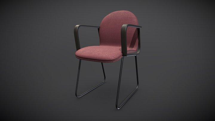 Desktop Chair 3D Model