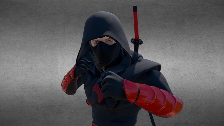 Ninja Heiko 3D Model