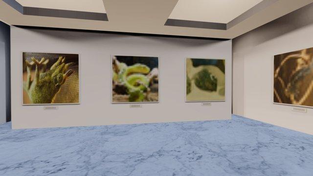 Instamuseum for @alexschade 3D Model