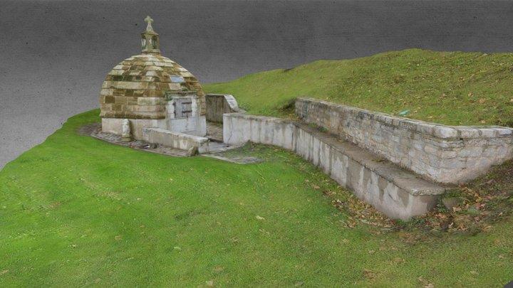 Monument en face de l'Aviron-Bayonnais 3D Model