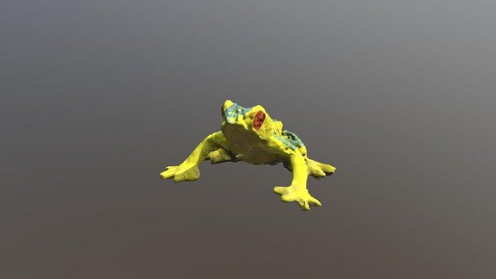 Frog Test 3D Model