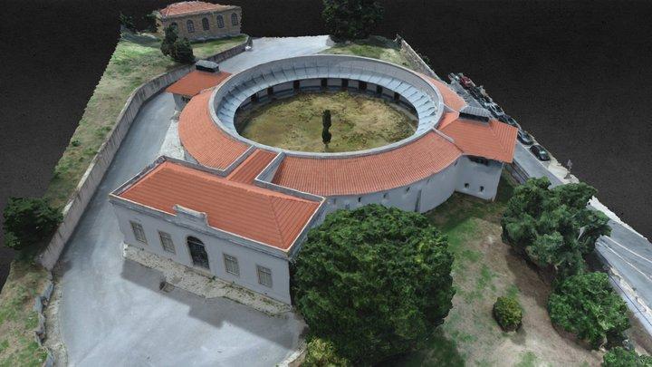 Edificio Panoptico 3D Model
