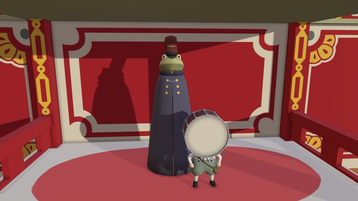 Lullaby in Frogland 3D Model