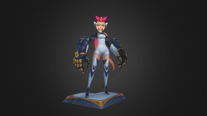 Hyperstrike 3D Model