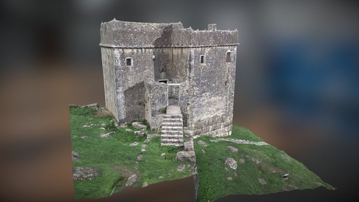 Tower of Ragio 3D Model