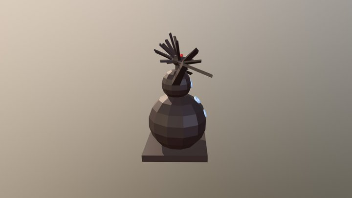 Nightmare Object 3D Model