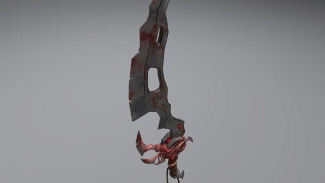 Organic Sword 3D Model