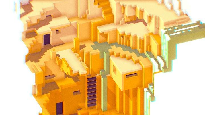 trOglodyte deux 3D Model