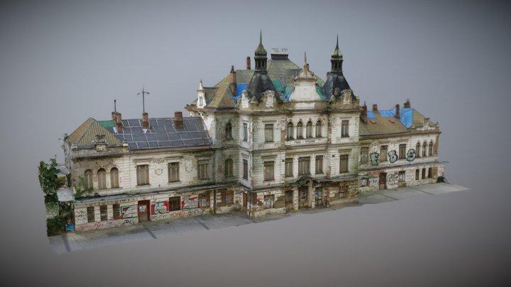 Nádraží Praha-Vyšehrad / Prague-Vyšehrad Station 3D Model