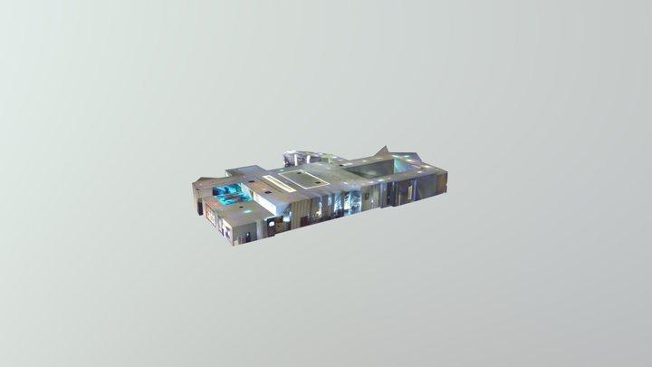 Vista Lobby Old Tvr 3D Model