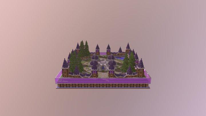 Purple Factions Spawn 3D Model