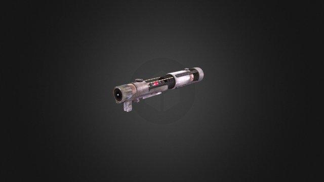 Starkiller's Lightsaber 3D Model