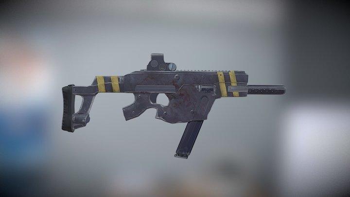 SMG-01 3D Model