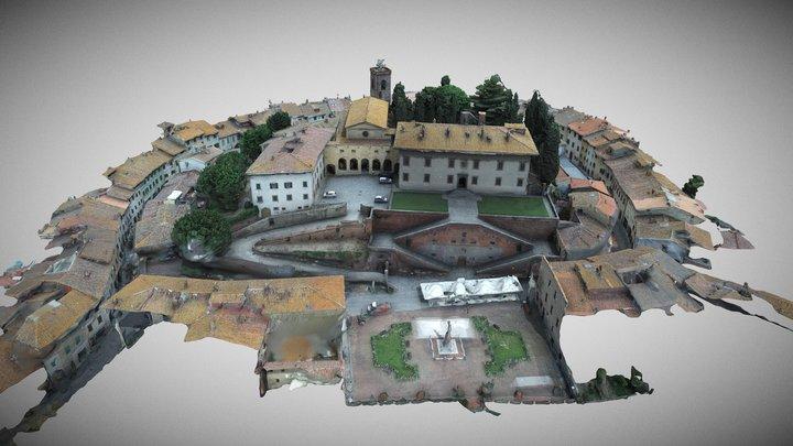 Villa medicea di Cerreto Guidi 3D Model
