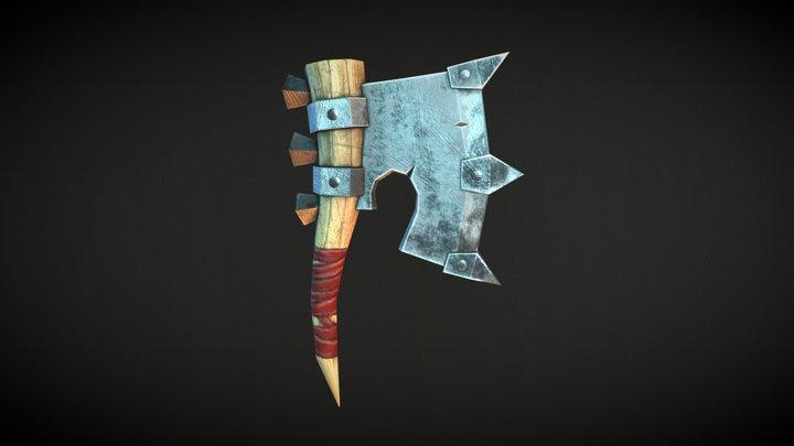 Mine Axe 3D Model