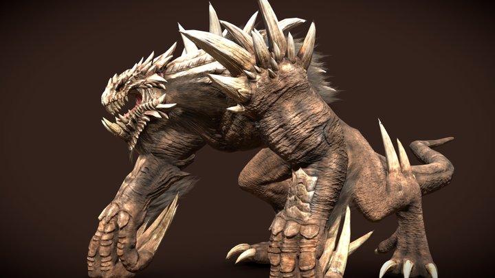 Behemoth concept by Earl Lan 3D Model