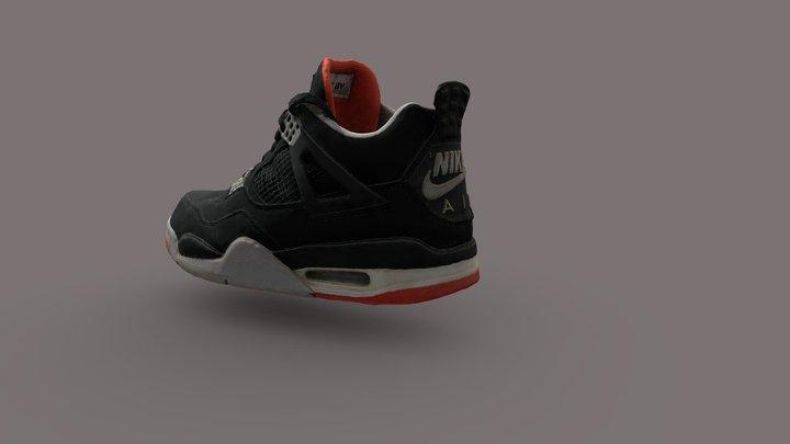 Jordan IV 3D Model
